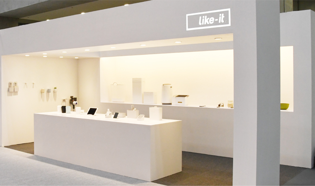 We exhibited at interiorlifestyle TOKYO held at Tokyo Big Sight, from July 17 to 19.